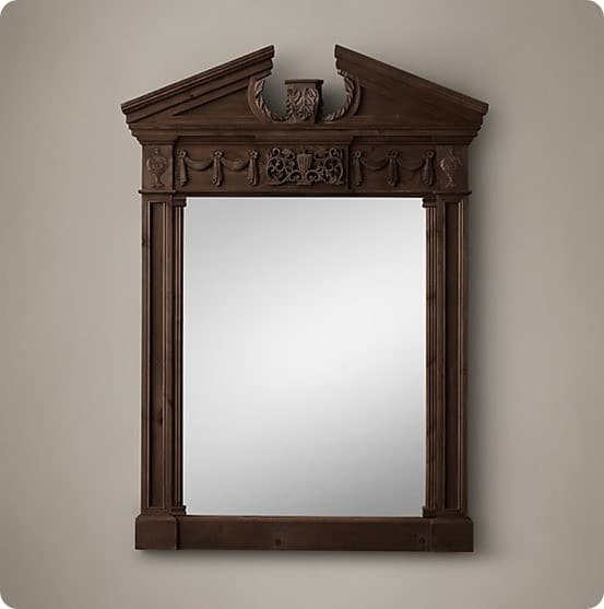 Entablature Mirror from Restoration Hardware