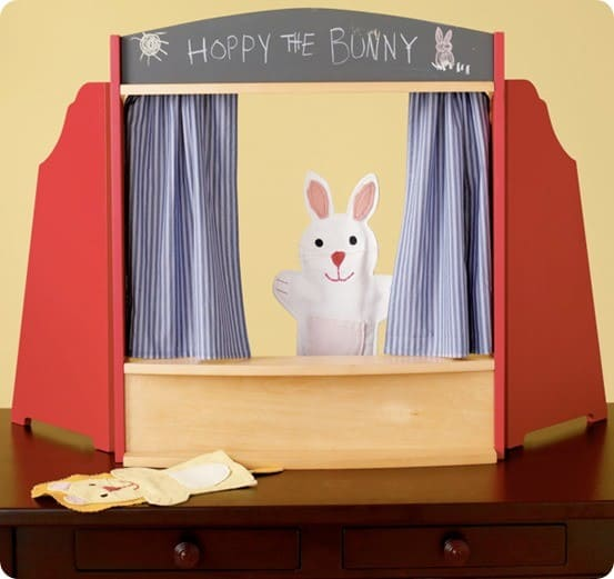 Land of Nod Tabletop Puppet Theatre