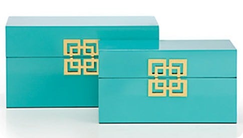 Z Gallerie Ming Boxes