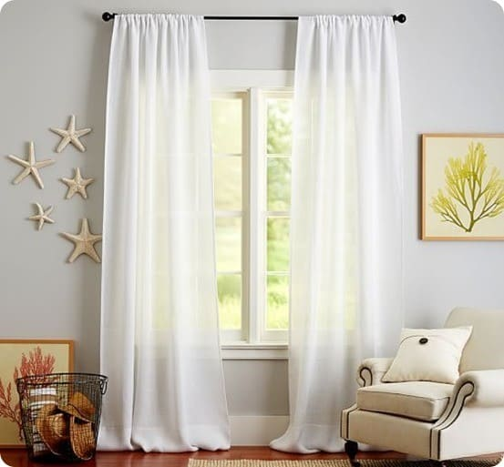 Save Money On Curtains With Tablecloths Knockoffdecor Com