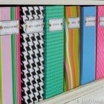 Patterned Magazine Files for LESS