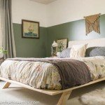 Modern Platform Bed for an Eclectic Guest Bedroom