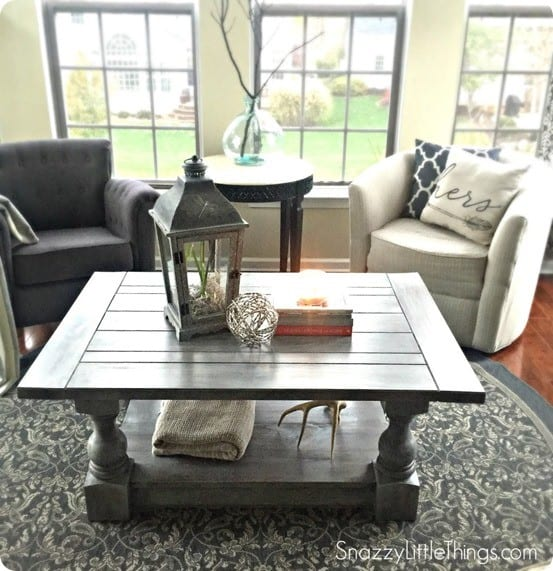 Balustrade Coffee Table Knockoffdecor Com