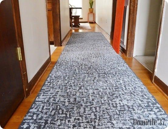DIY Home Decor ~ Kate Spade Knock Off Painted Rug