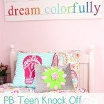 """Dream Colorfully"" Sign for a Teen Room"