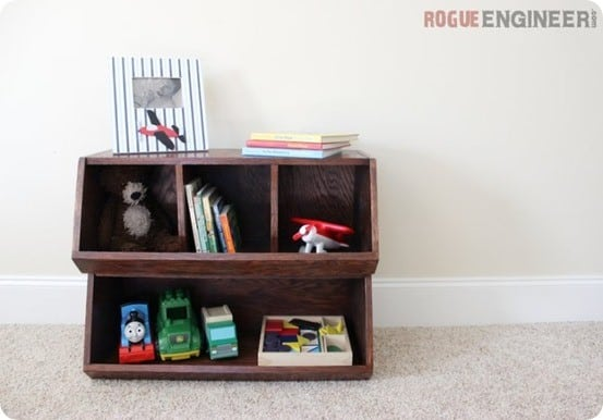 DIY Wood Projects ~ Pottery Barn Kid Knock Off Bulk Bins