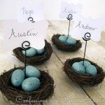 Nest Place Card Holders for Spring
