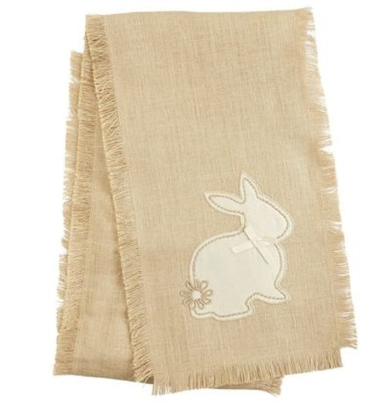 Natural Bunny Table Runner from Pier 1 Imports