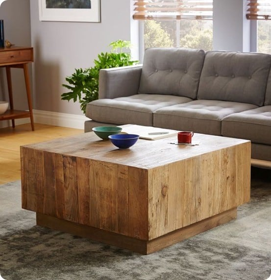 Ordinaire Plank Coffee Table From West Elm