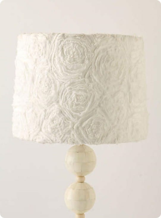 Ranunculus Swirl Lampshade from Anthropologie