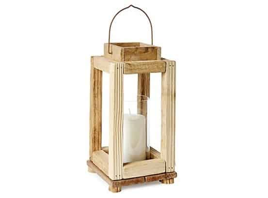 Rustic Wood Lantern from One Kings Lane