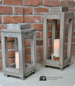 Lanterns add light and comfort to any porch.
