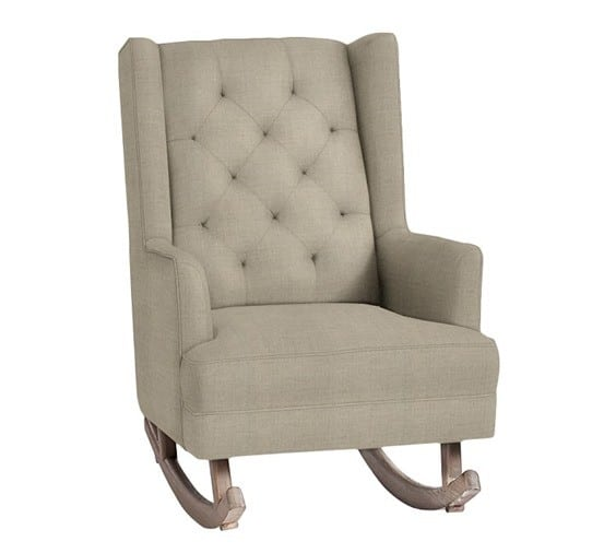 Tufted Wingback Rocker from Pottery Barn Kids