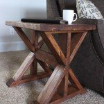 Trestle Side Table for $20