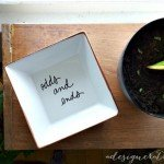 """""""Odds and Ends"""" Jewelry Dish"""