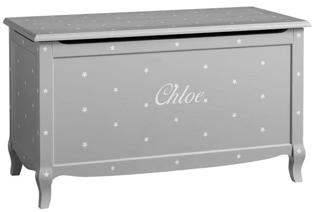 Claudia Toy Chest with Stars from Pottery Barn Kids