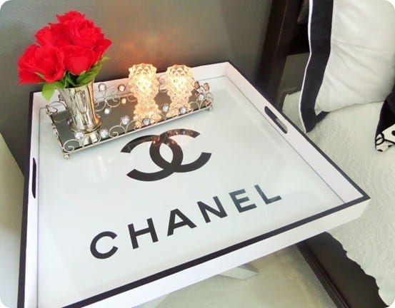 DIY Chanel Tray from a Flea Market Find