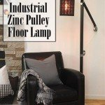 One-of-a-Kind Pulley Floor Lamp