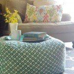 Oversized Floor Pouf Tutorial