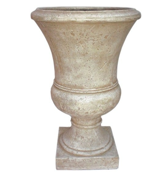 Fiberglass Urns from Lowes