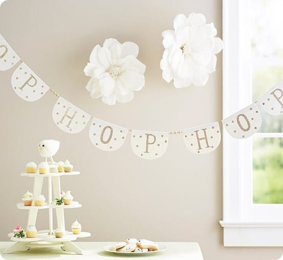 Hop Hop Hop Garland from Pottery Barn Kids