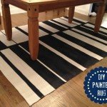 Painted Off Set Stripe Rug
