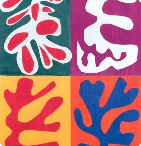 Matisse Cutout Artwork
