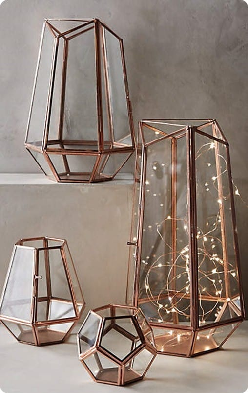 Metalwork Hurricanes from Anthropologie
