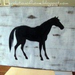Horse Silhouette Wall Art