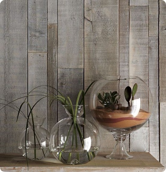 Shane Powers Fishbowl Planters and Vases