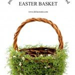 Greenery-Covered Easter Basket