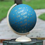 """Be the Change"" Inspirational Globe Makeover"