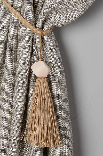 Faceted Bead Curtain Tie Backs Knockoffdecor Com