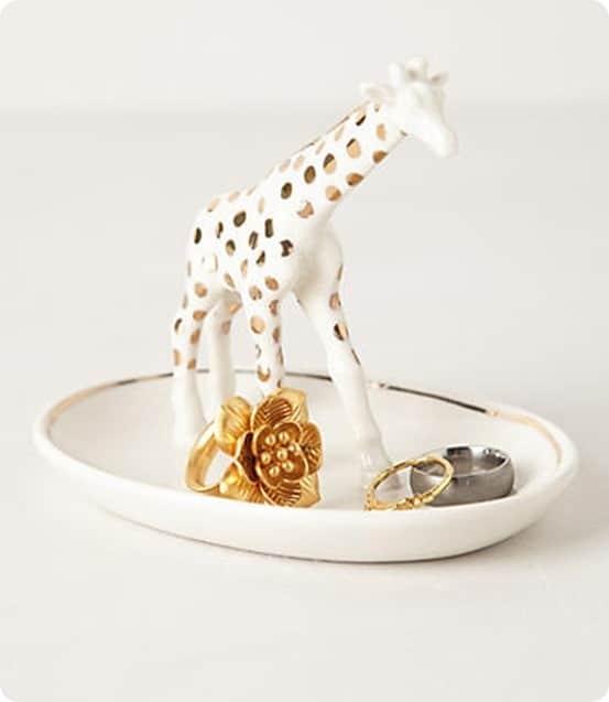 Giraffe Trinket Dish from Anthropologie