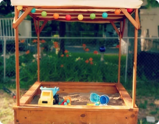 Sandbox With Canopy And Bench Knockoffdecor Com