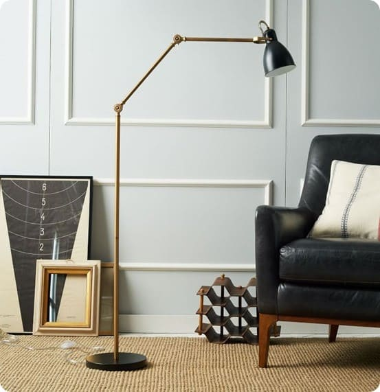 Industrial Task Floor Lamp from West Elm