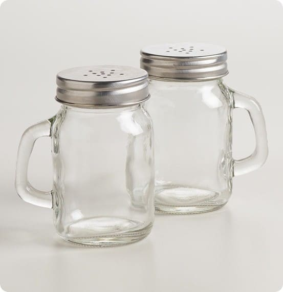 Mason Jar Salt and Pepper Shaker from World Market