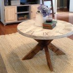 X-Base Clock Coffee Table