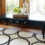 Black Chalk Paint Coffee Table