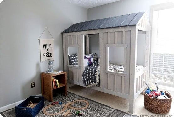 Rustic Cabin Kids Bed Knockoffdecor Com