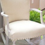 Chalk Paint Rocking Chair Makeover
