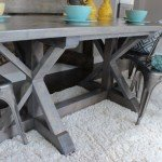 Trestle Dining Table for $170