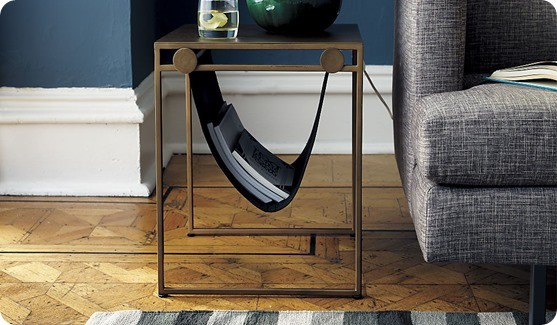 SAIC sling nightstand-side table from CB2