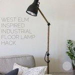 Industrial Floor Lamp IKEA Hack