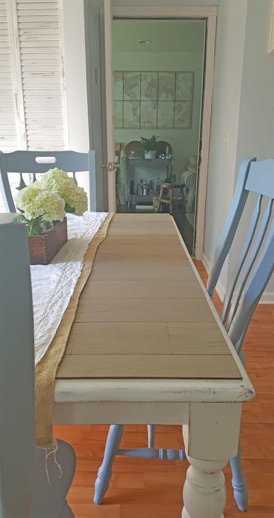 Rustic Farmhouse Table Makeover
