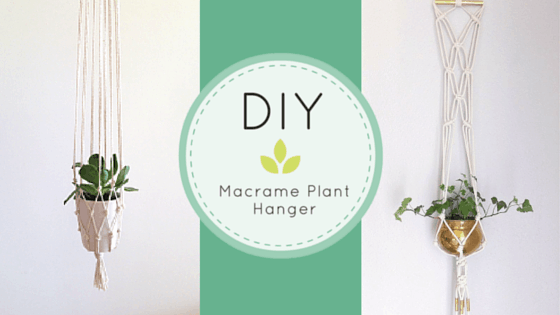 DIY MACRAME PLANT
