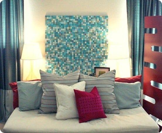 Paper Mosaic Wall Art Knockoffdecor Com