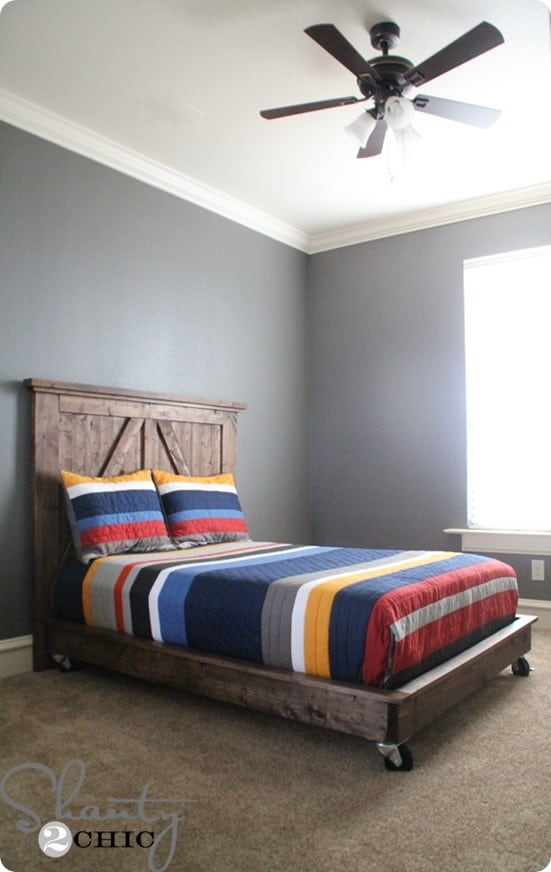 Build A Platform Bed On Wheels Knockoffdecor Com