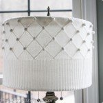 Sweater Covered Lampshade
