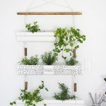 Hanging Planter Made from Gutters